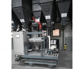 配料系统实时监测生产过程,更加方便操作
